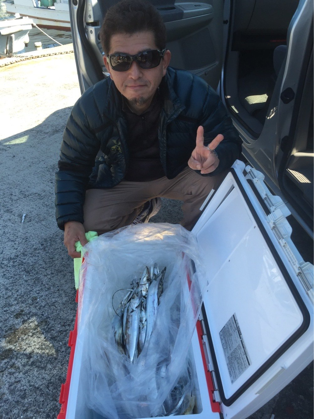 はまちゃんさんの投稿画像,写っている魚はタチウオ