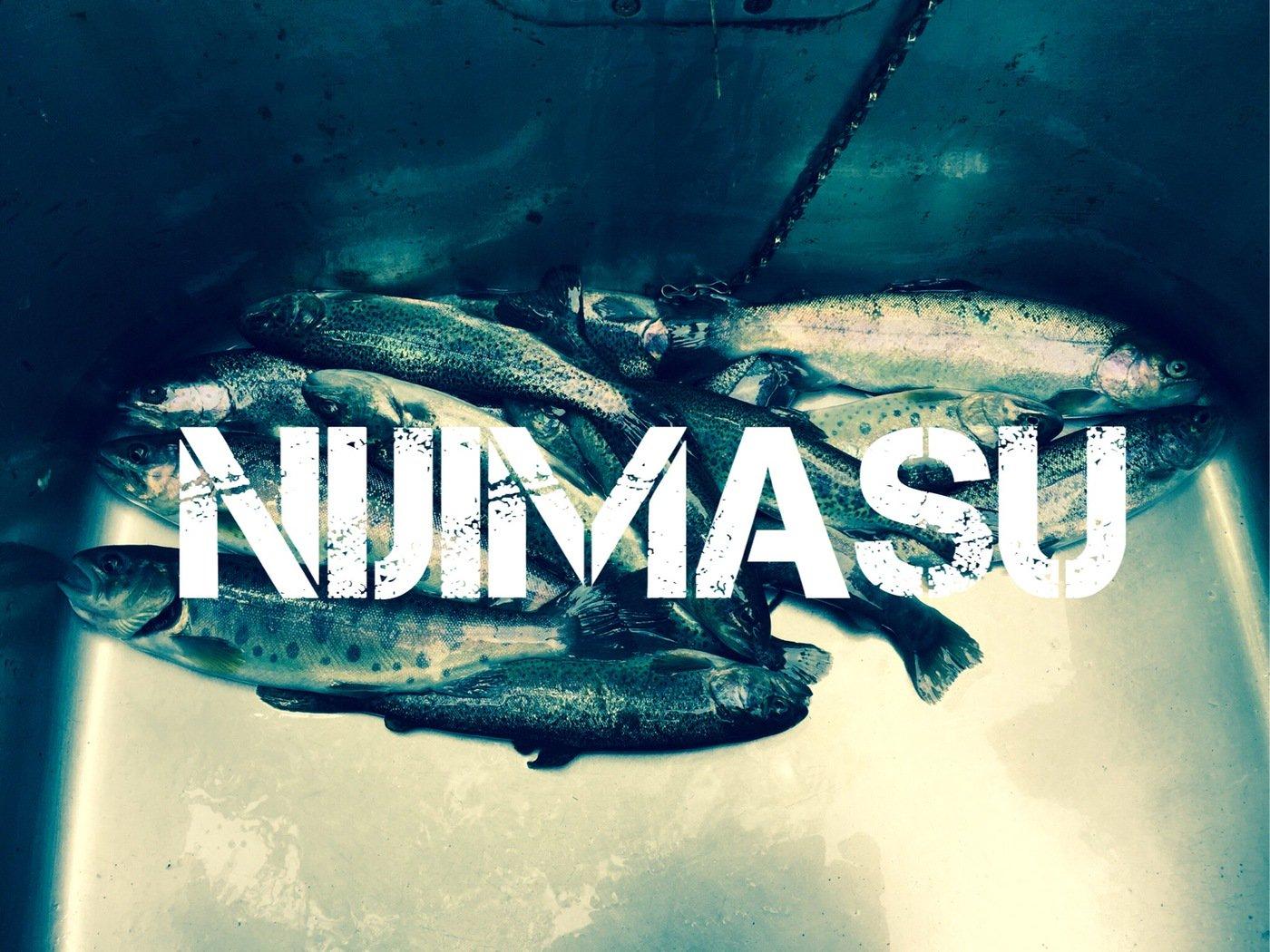 saccchanさんの投稿画像,写っている魚はニジマス