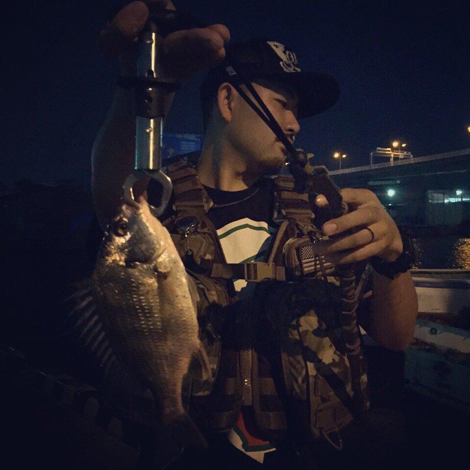MSKさんの投稿画像,写っている魚はクロダイ
