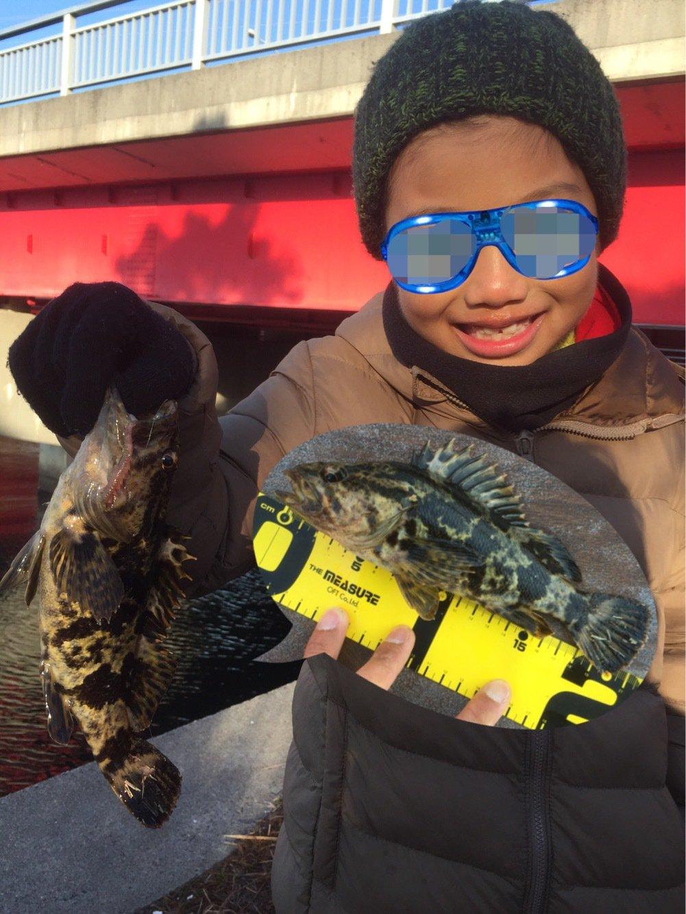 SHOーKUNさんの投稿画像,写っている魚はタケノコメバル