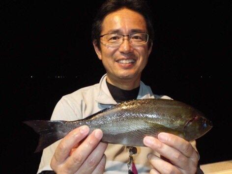 ジョーコーギーさんの投稿画像,写っている魚はイサキ