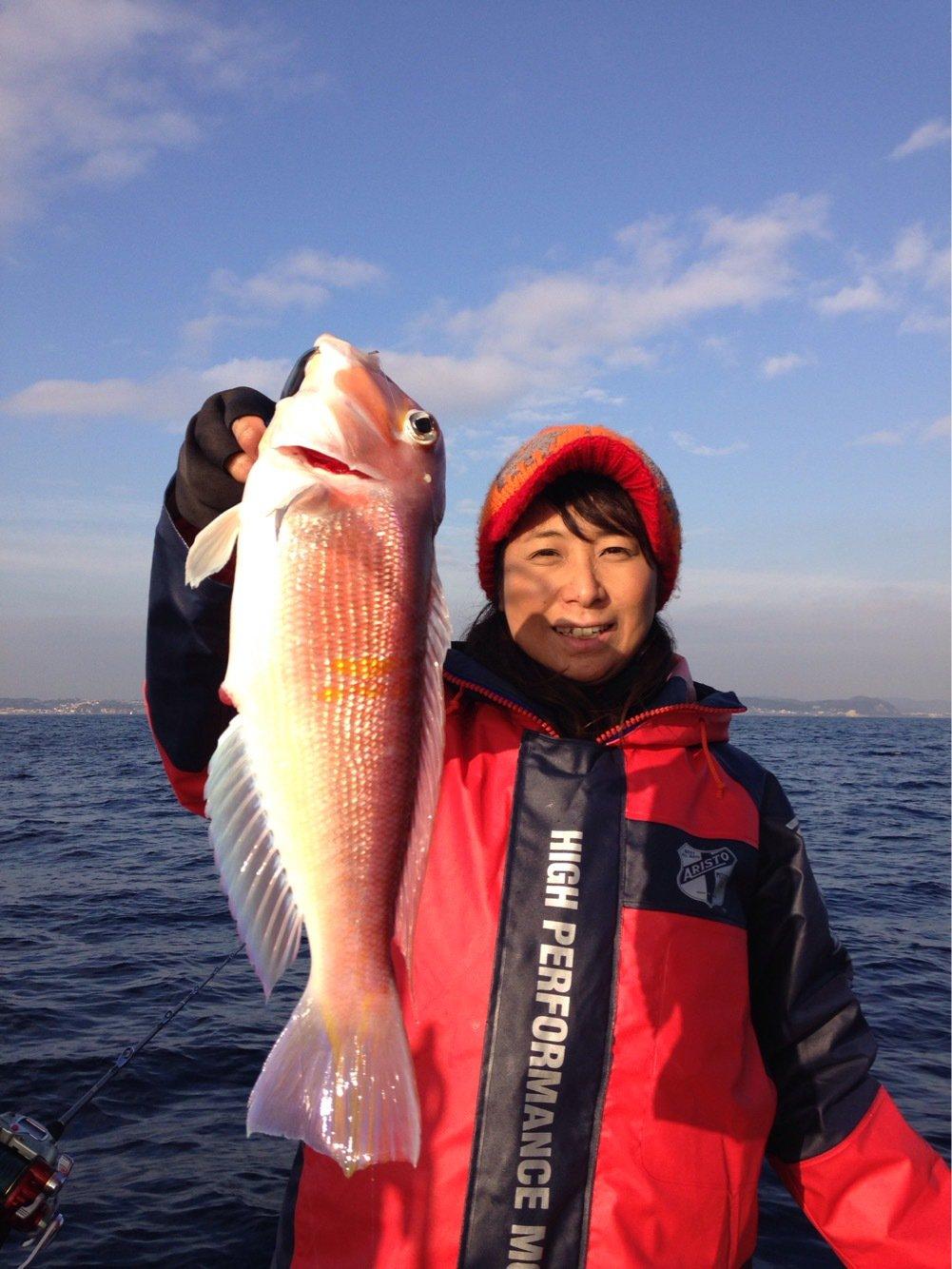 Masakoさんの投稿画像,写っている魚はアマダイ
