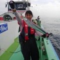 Masakoさんの神奈川県鎌倉市でのタチウオの釣果写真