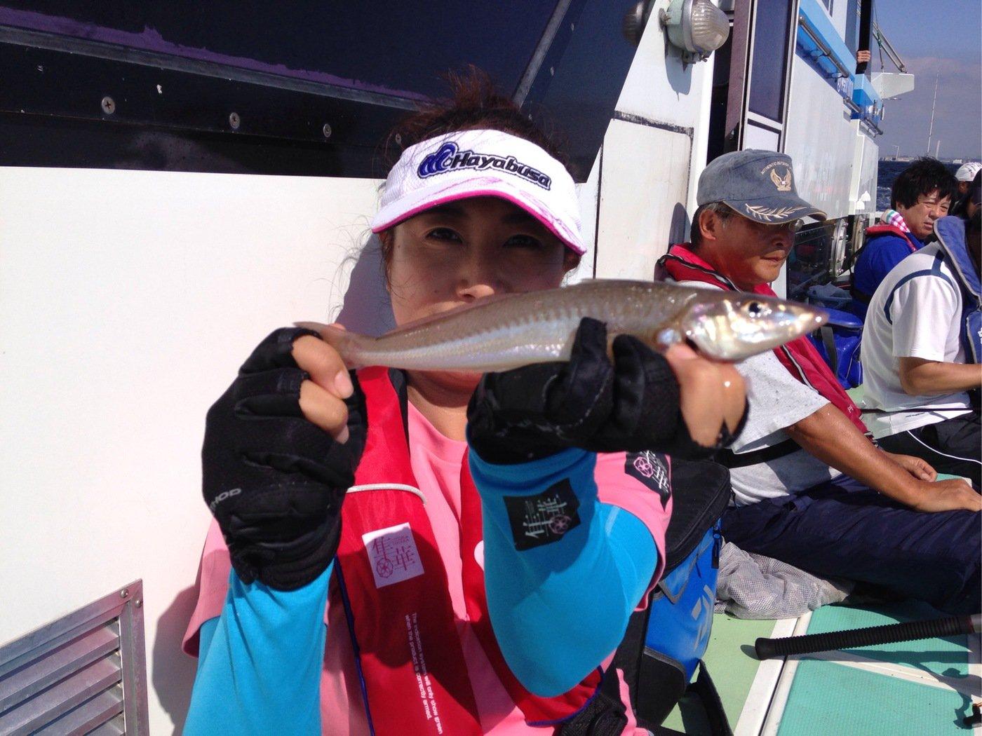 Masakoさんの投稿画像,写っている魚はシロギス