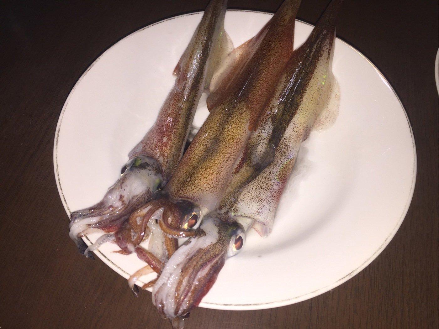 卓也(*゚▽゚)ノ♡さんの投稿画像,写っている魚はヤリイカ