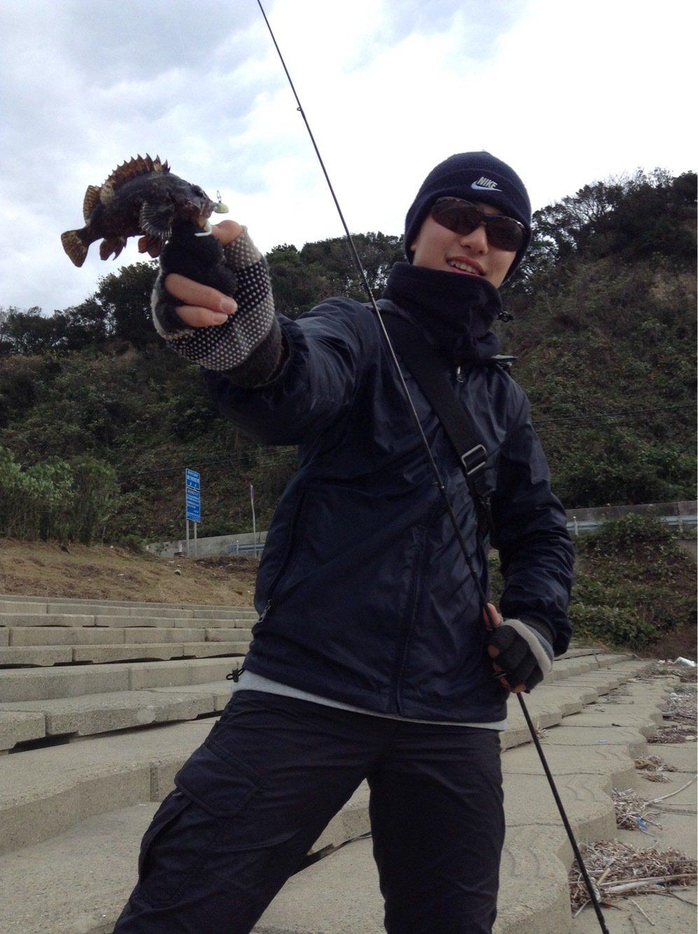 晃太郎さんの投稿画像,写っている魚はクロソイ