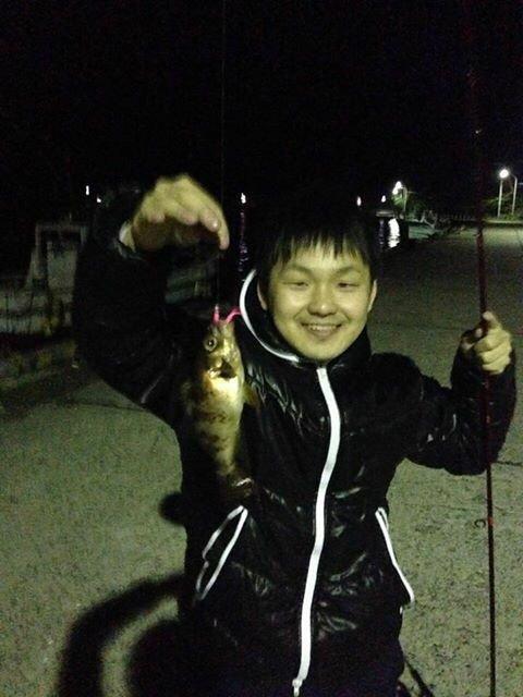 りゅうさんの投稿画像,写っている魚はメバル