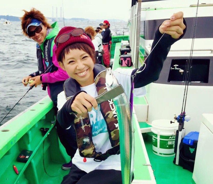 Bunさんの投稿画像,写っている魚はタチウオ