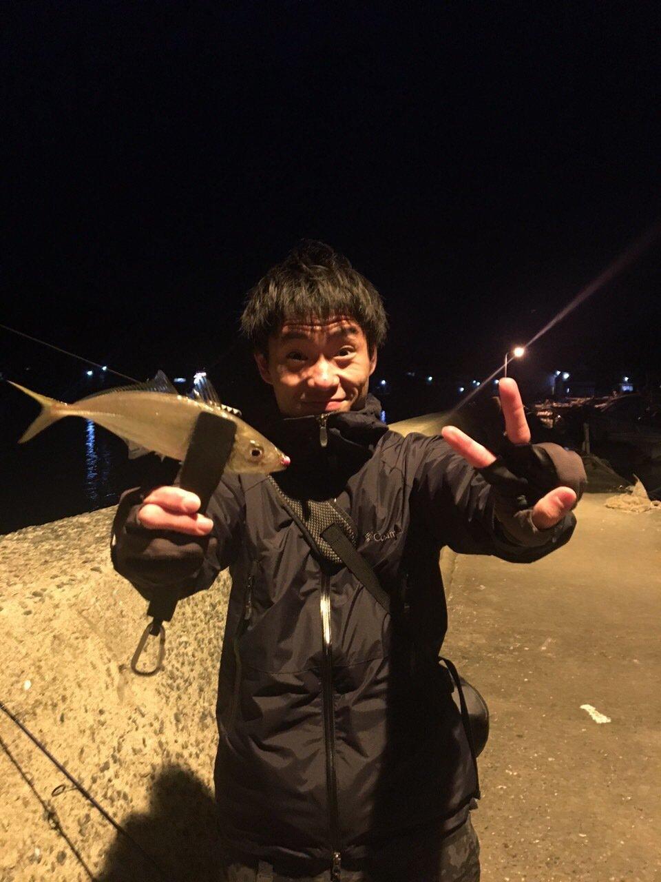 ヤマショウさんの投稿画像,写っている魚はアジ