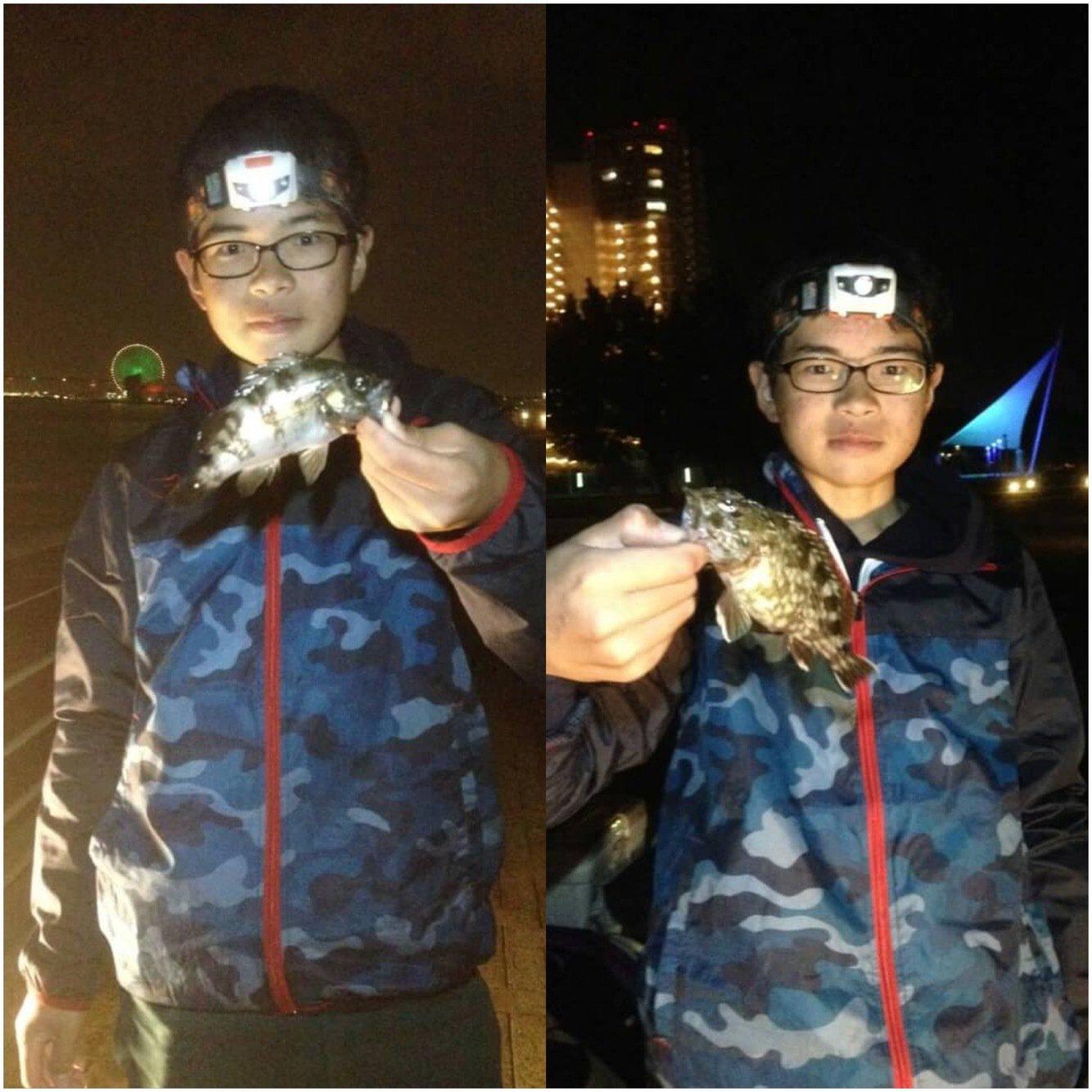 がじろう+fΙshΙngさんの投稿画像,写っている魚はメバル