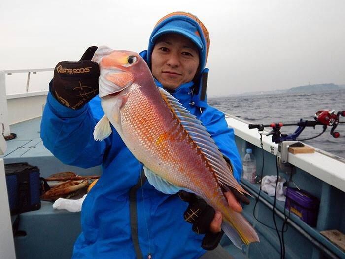 じざいさんの投稿画像,写っている魚はアマダイ