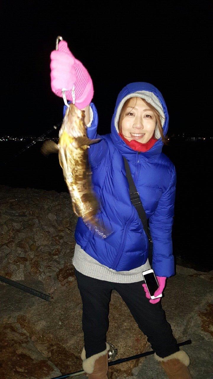 まりこさんの投稿画像,写っている魚は