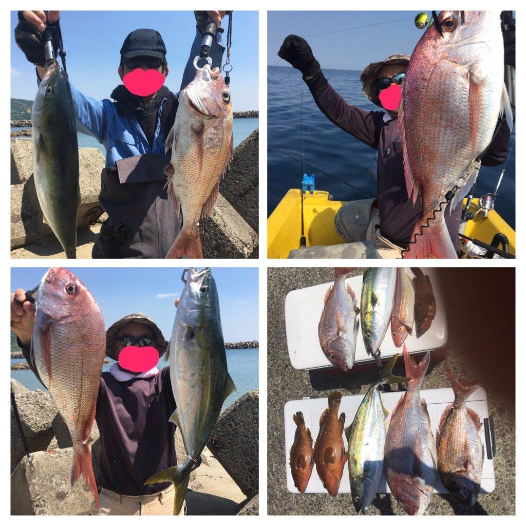 け〜たゴリラさんの投稿画像,写っている魚はマダイ
