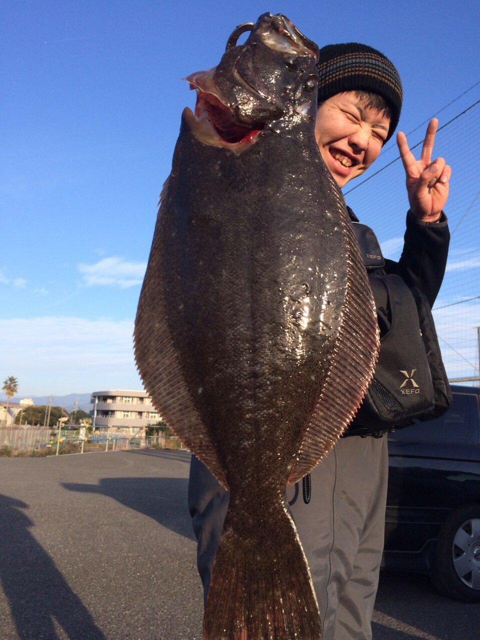 Ryoさんの投稿画像,写っている魚はヒラメ