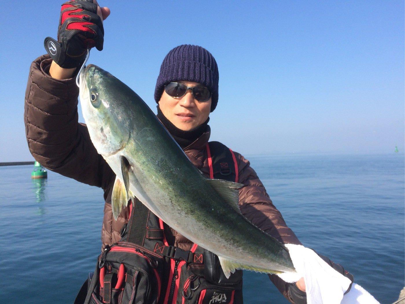 Masato Miyoshi さんの投稿画像,写っている魚はブリ