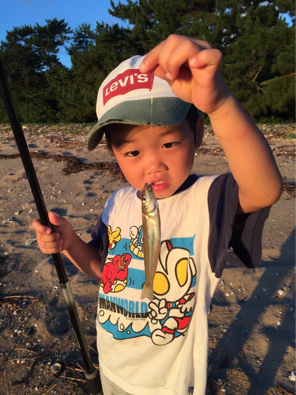 akipapaさんの投稿画像,写っている魚はシロギス