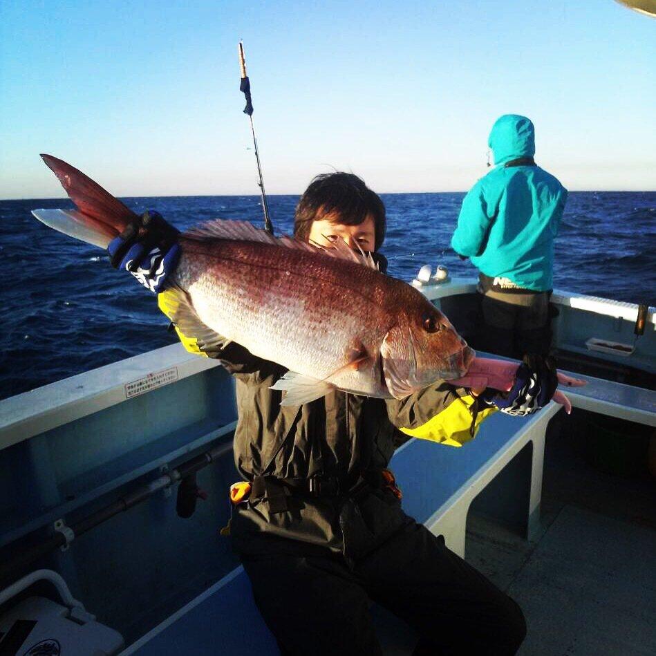SHOEIさんの投稿画像,写っている魚はマダイ