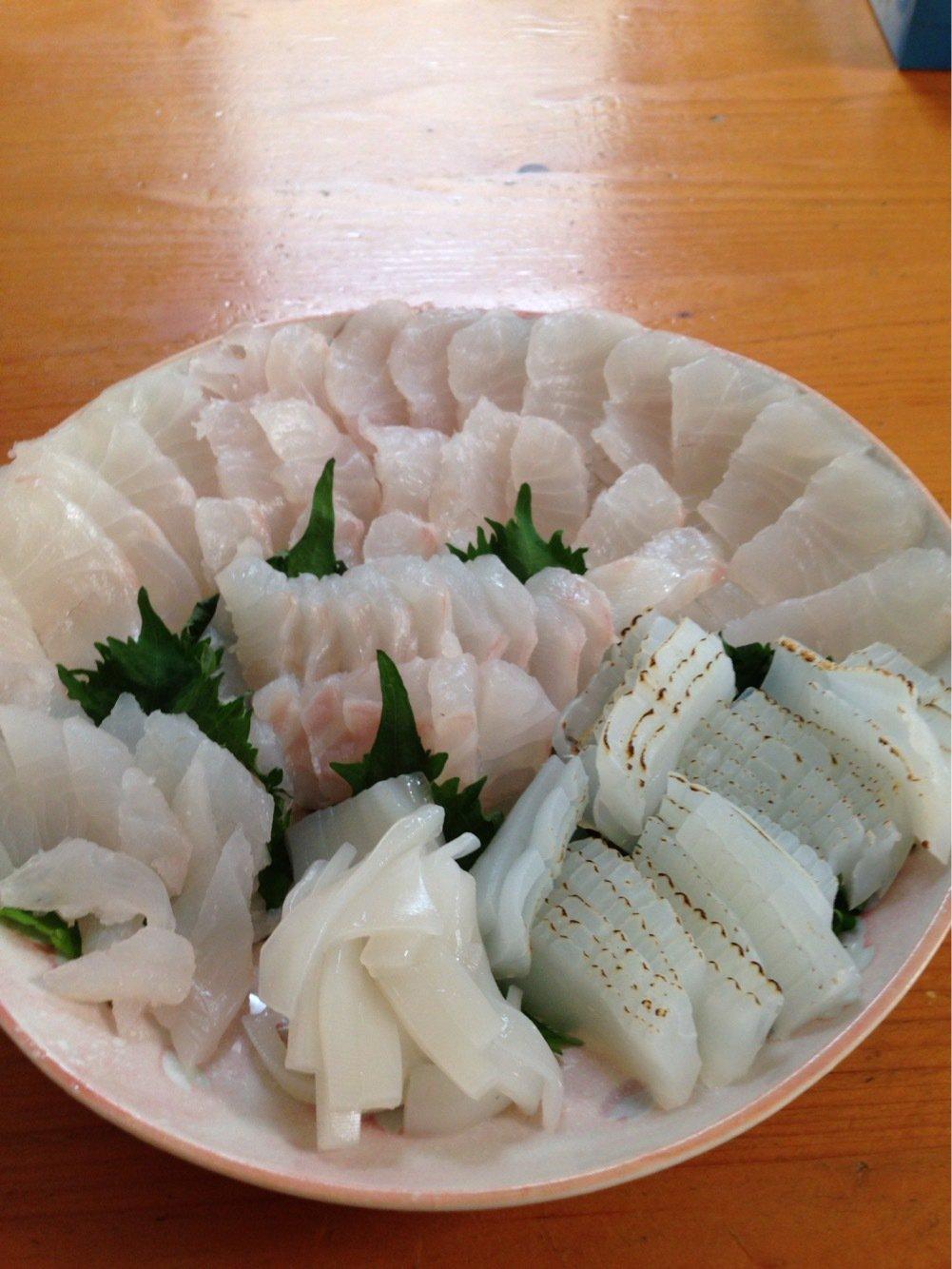ナベさんの投稿画像,写っている魚はクエ