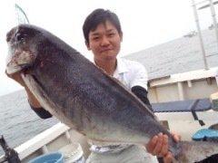 奥山 賢祐さんの投稿画像,写っている魚はメダイ