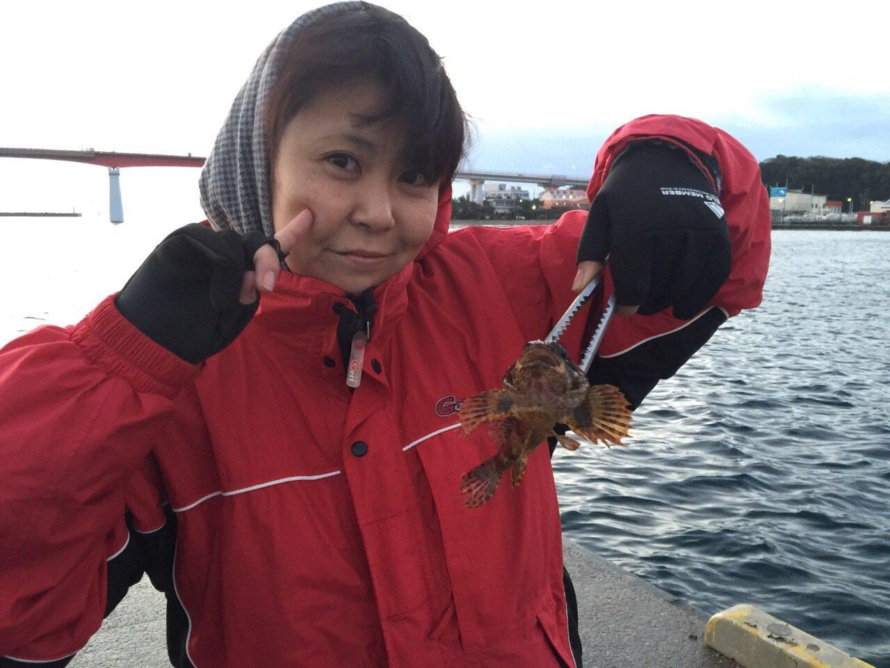 はにこさんの投稿画像,写っている魚はカワハギ