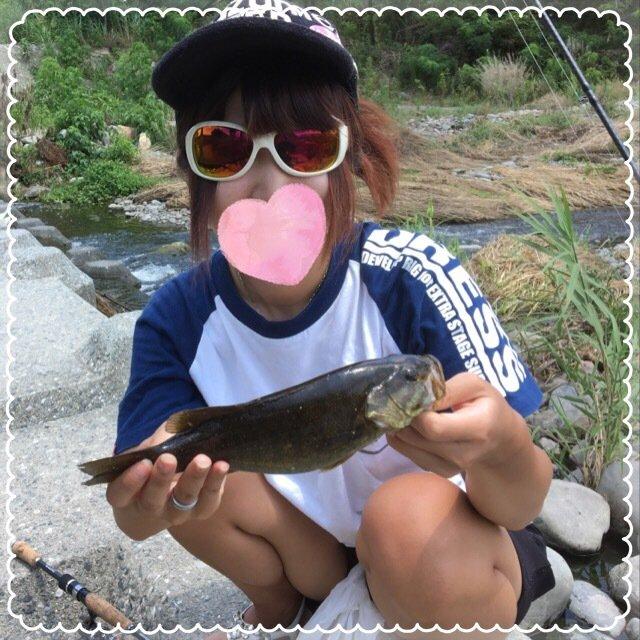 ぴのこさんの投稿画像,写っている魚はスモールマウスバス