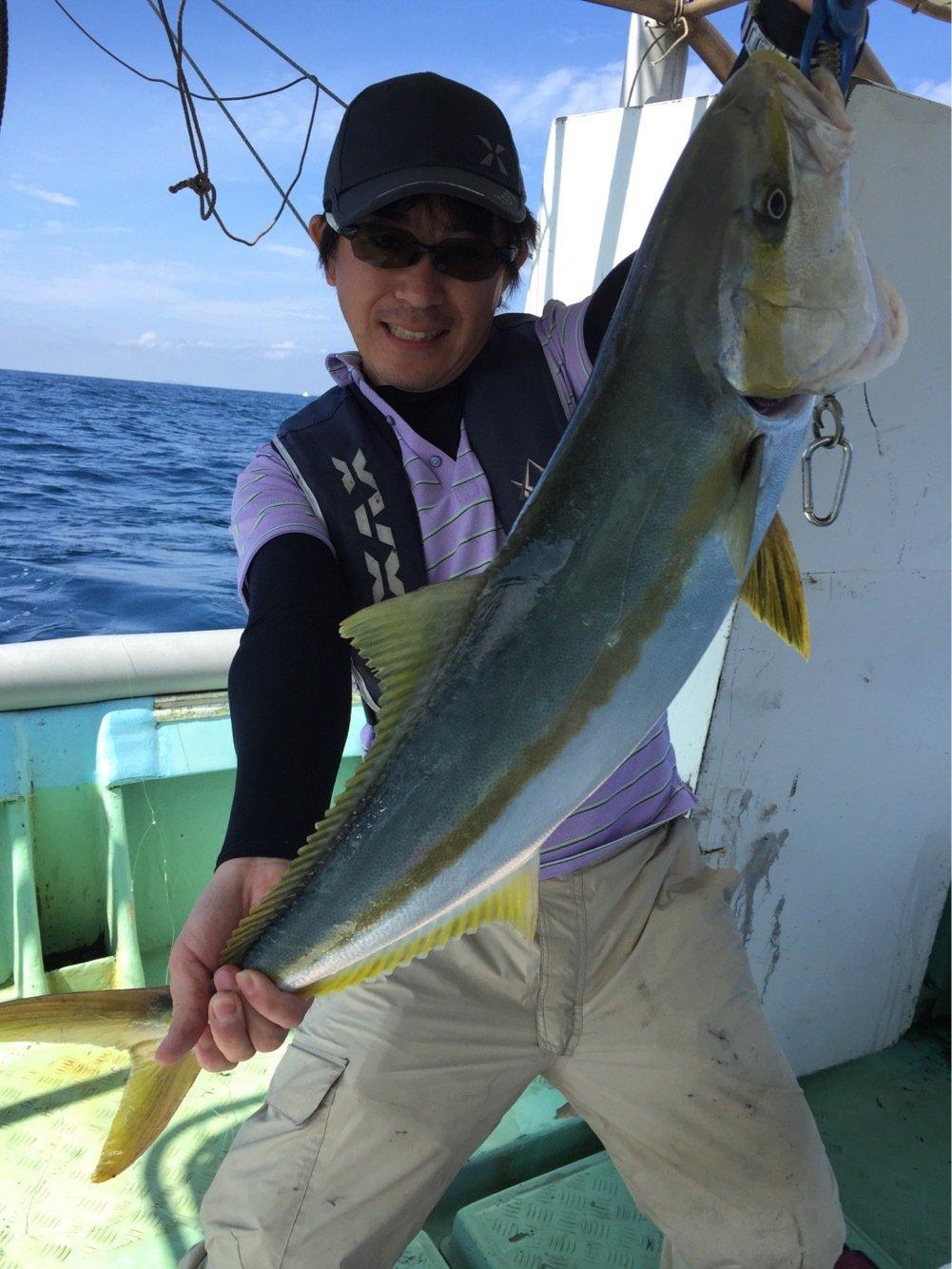 ミヤモトミチヒコさんの投稿画像,写っている魚はヒラマサ