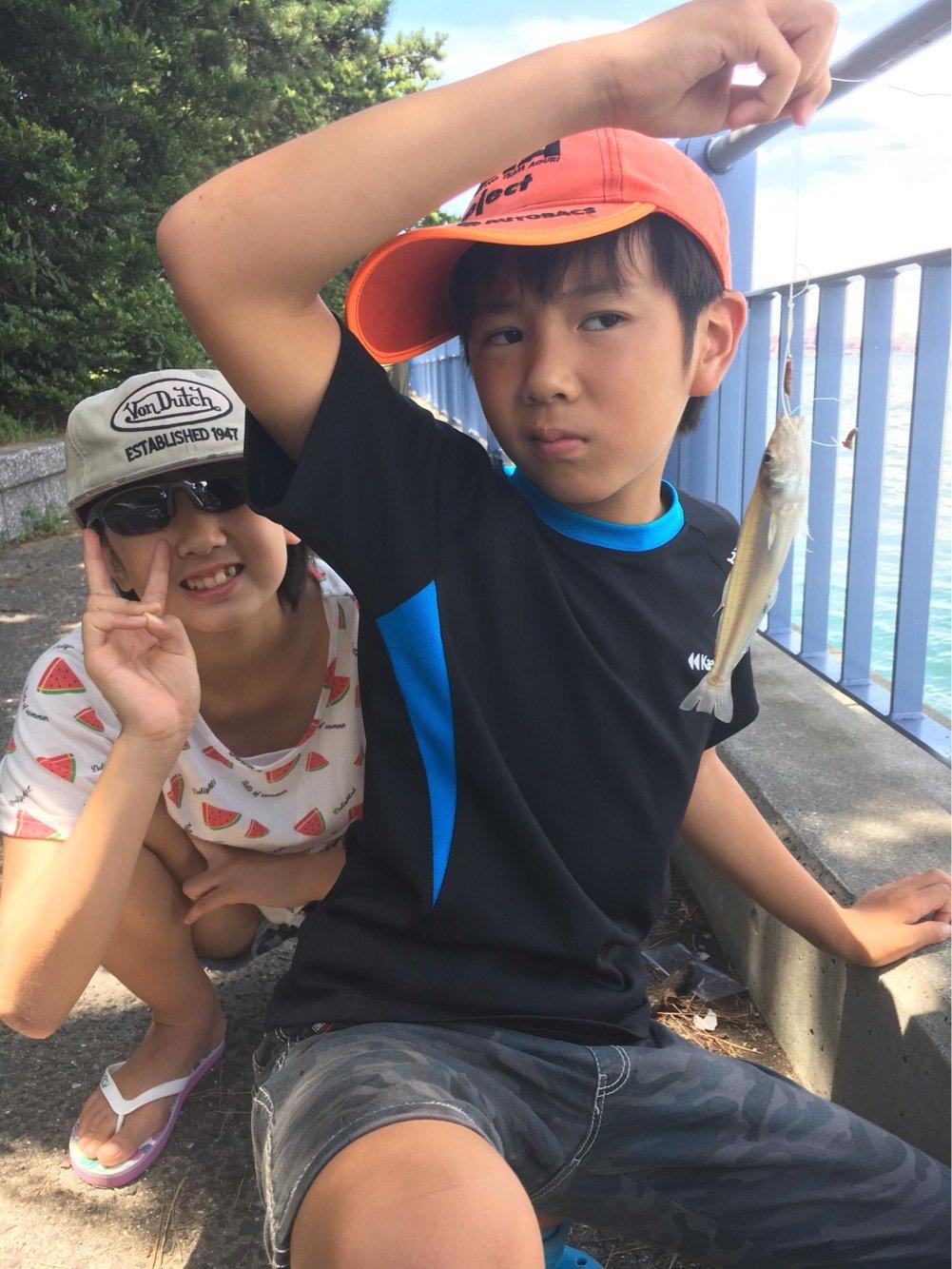 長谷川 真一さんの投稿画像,写っている魚はシロギス