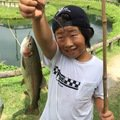 Aさんの岡山県真庭郡での釣果写真