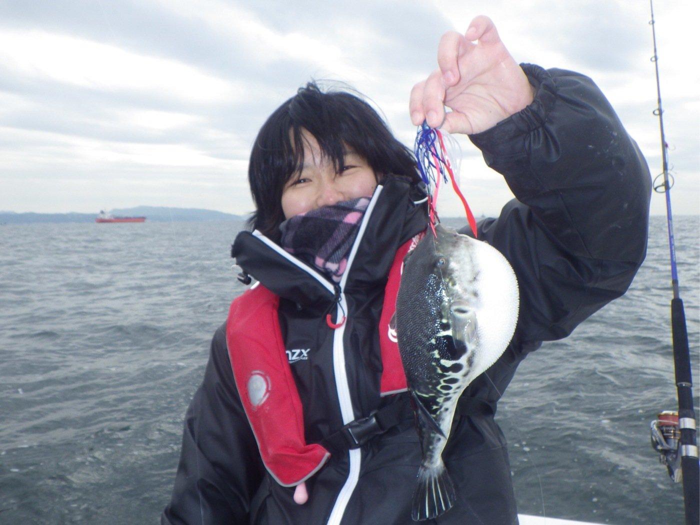 riecoさんの投稿画像,写っている魚は