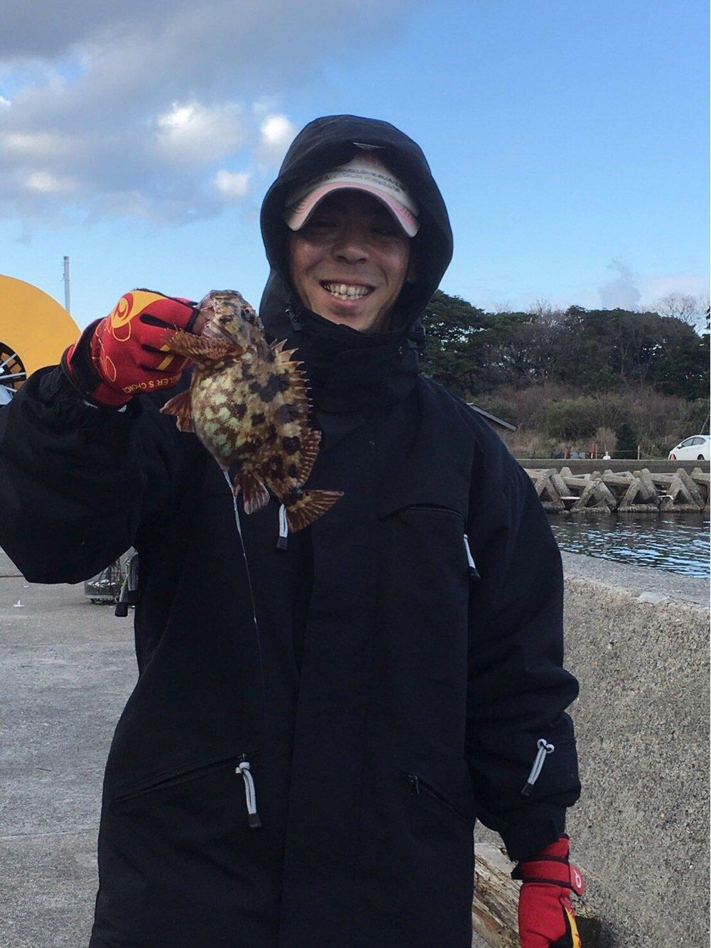 コキチさんの投稿画像,写っている魚はカサゴ