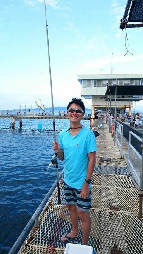 釣之介さんの投稿画像,写っている魚はフグ