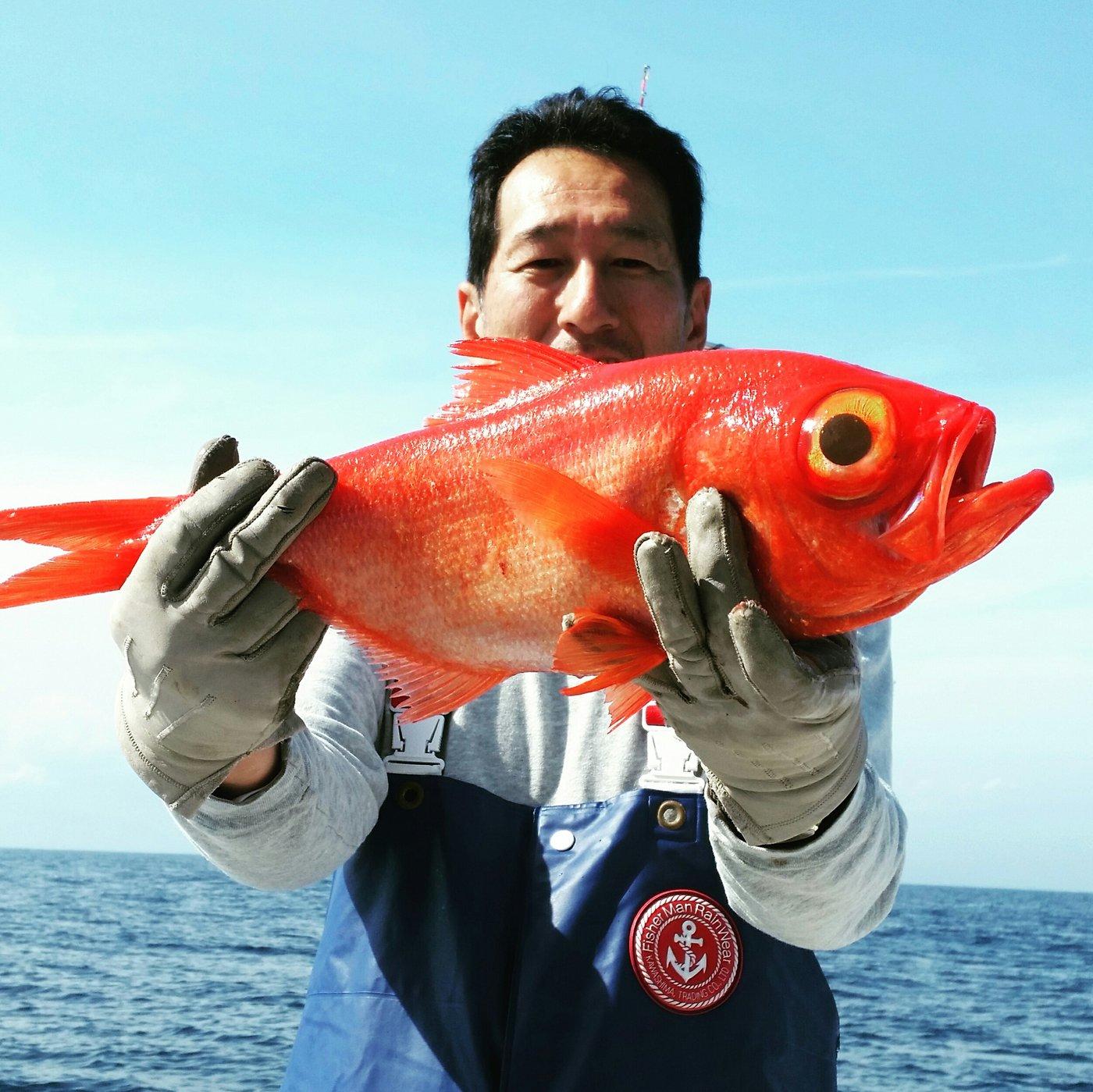 boboss5さんの投稿画像,写っている魚はキンメダイ