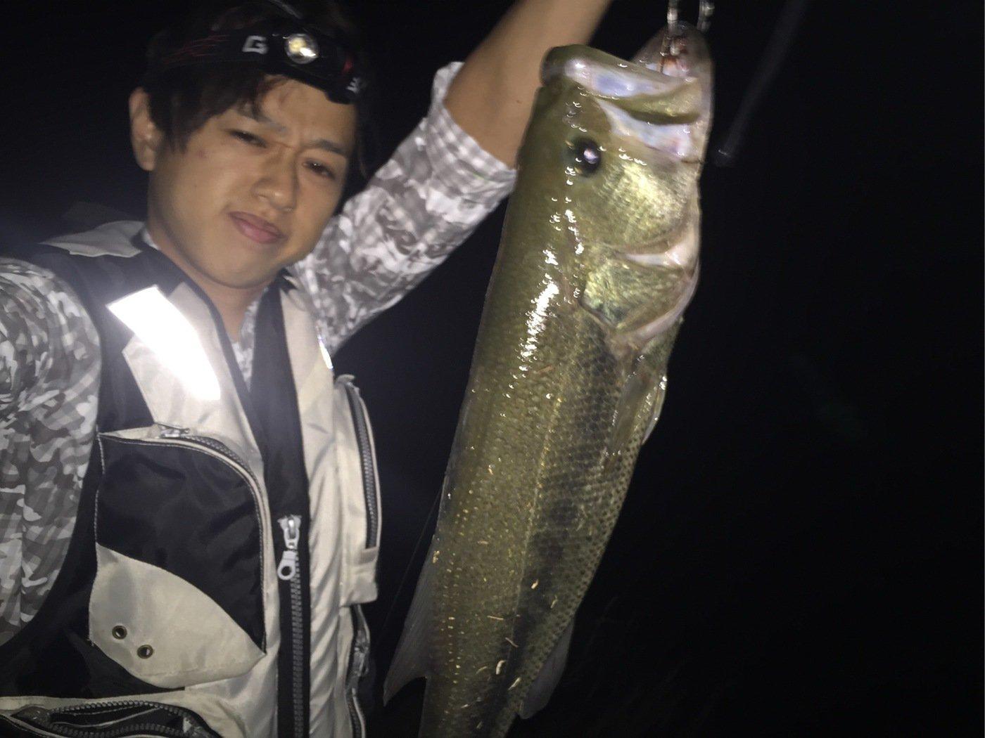 Naoさんの投稿画像,写っている魚はブラックバス