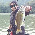 カズヤさんの山梨県上野原市でのブラックバスの釣果写真