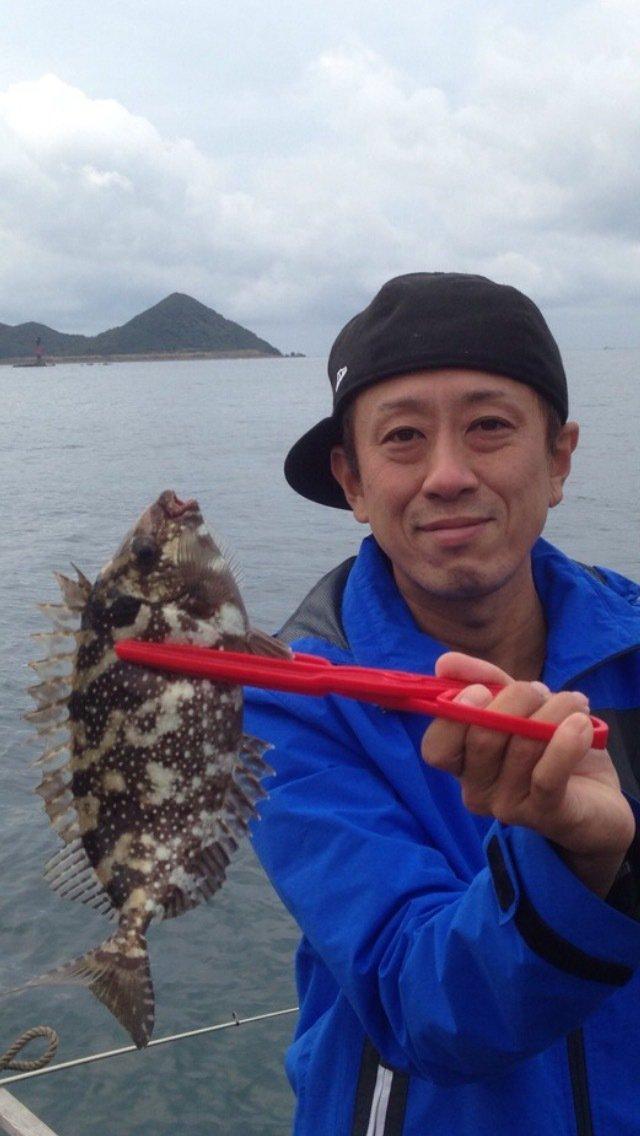 げんきさんの投稿画像,写っている魚はアイゴ