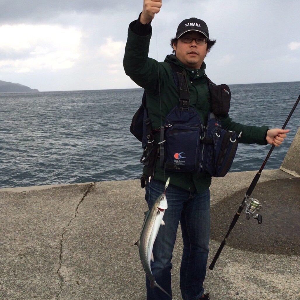 Riccardo さんの投稿画像,写っている魚はサワラ