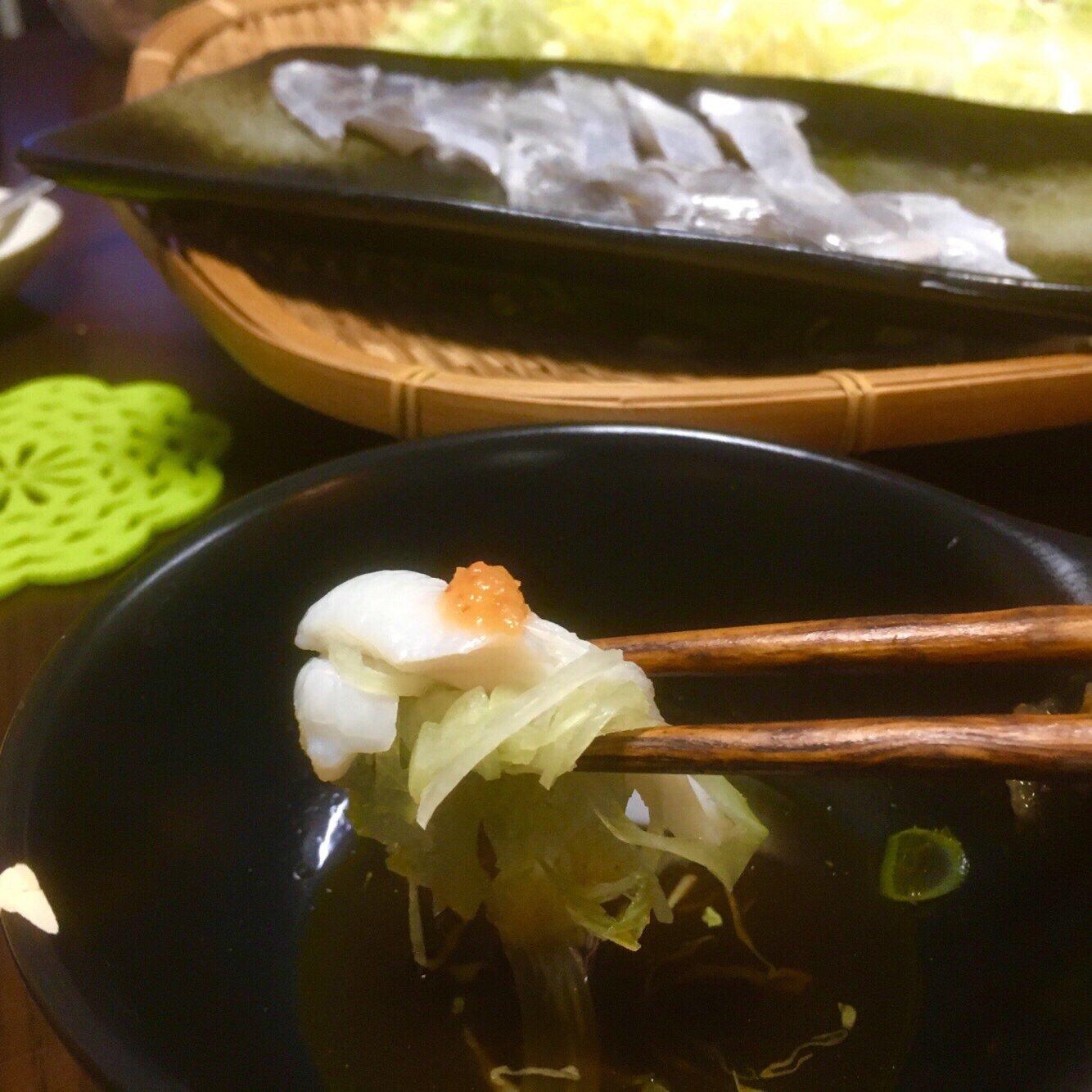 romi @異次元イカBBAさんの投稿画像,写っている魚はタチウオ,