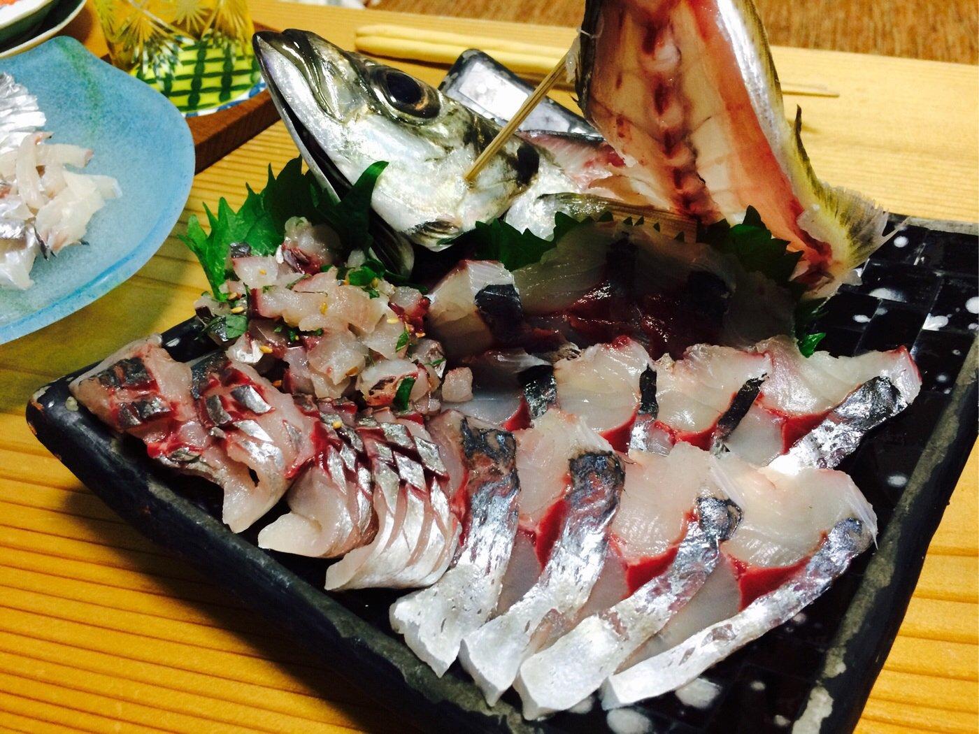 fish hunter 3号さんの投稿画像,写っている魚はアジ