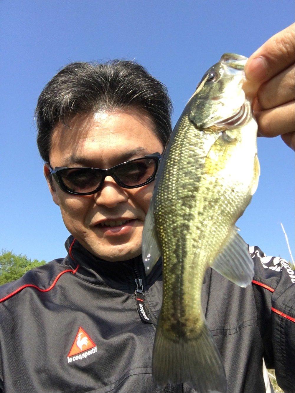 圭太郎さんの投稿画像,写っている魚はブラックバス