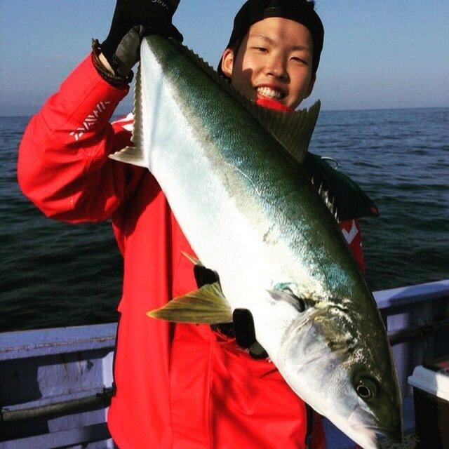 しょーごさんの投稿画像,写っている魚はヒラマサ