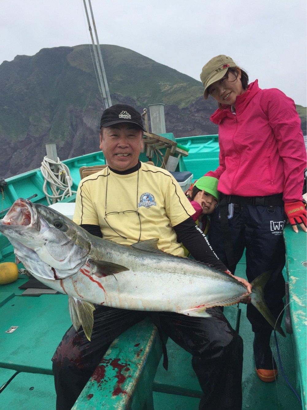 水谷俊洋さんの投稿画像,写っている魚はヒラマサ