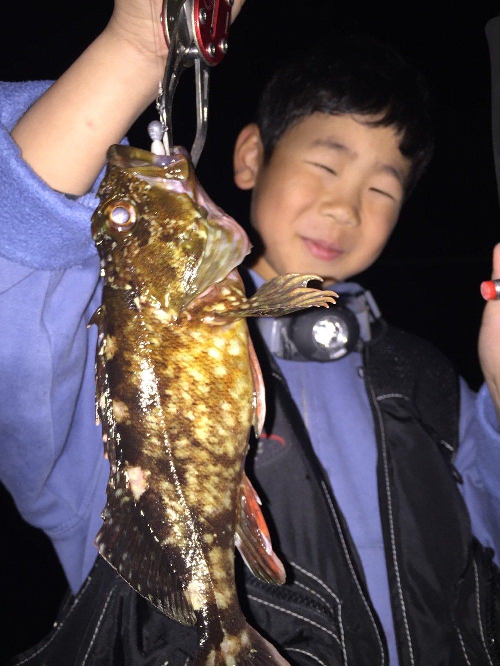 しろやんさんの投稿画像,写っている魚はカサゴ