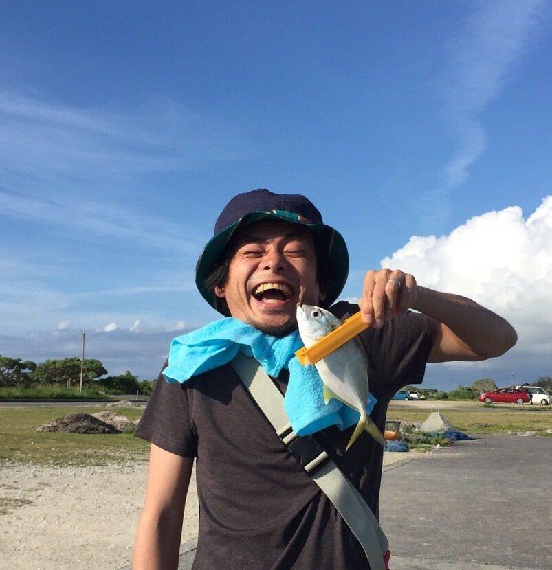 サカイエヒタさんの投稿画像,写っている魚はロウニンアジ